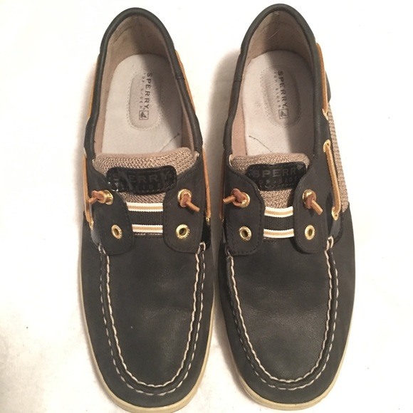 bc457943d1f Sperry Navy Blue Loafers Boat Shoes Womens Size 10.  M 5bd3d49f03087cca6d99f66f